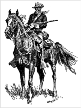 Old_Bill_Cavalry_Mascot_Poster