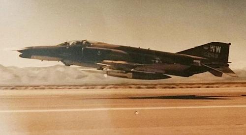 F-4 Take Off